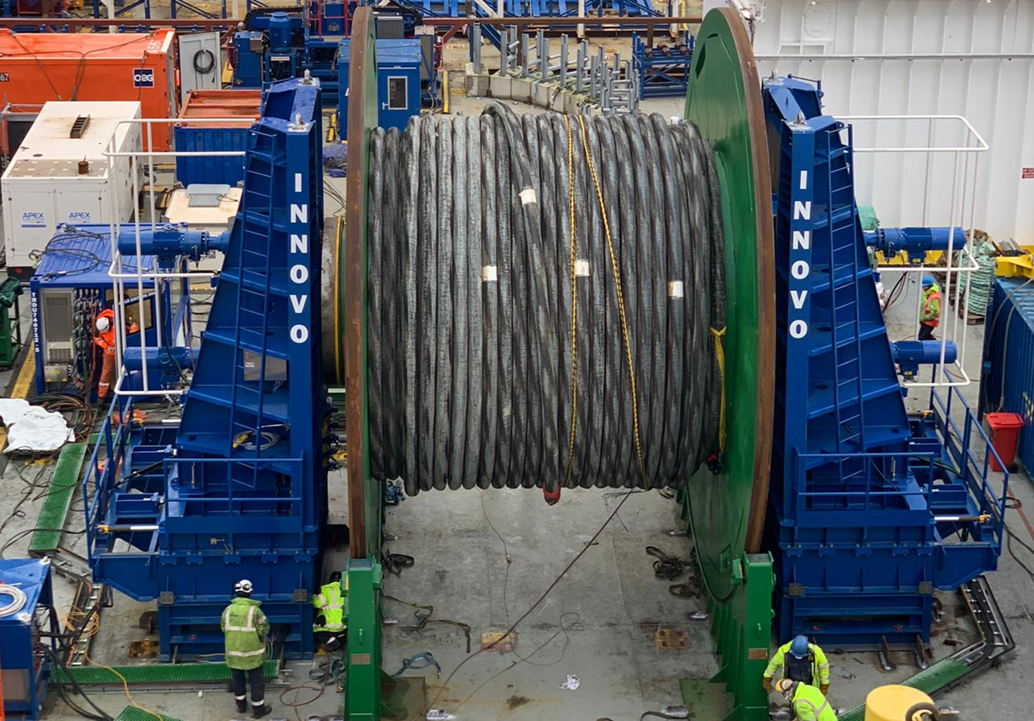 Designing, building and operating electrical reel drive systems worldwide