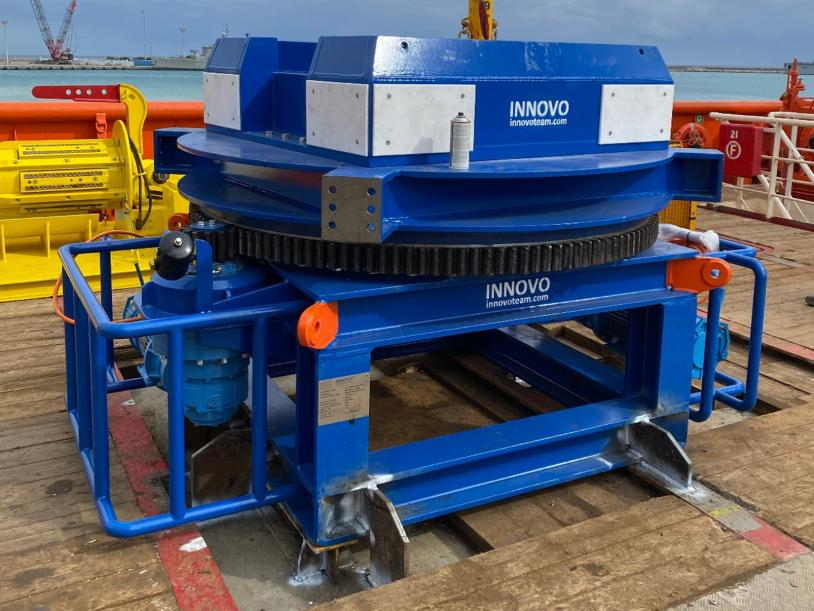 The Innovo Motorised Drum's modular design allows for quick and easy deployment.