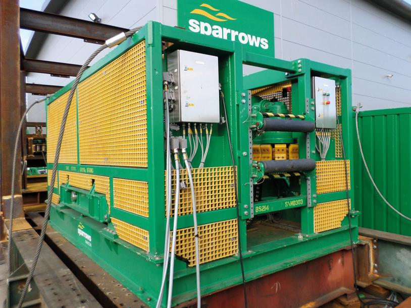 Sparrows Group 15T electric tensioner (image courtesy of Sparrows Group).