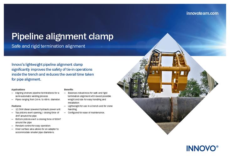 Pipeline Alignment Clamp