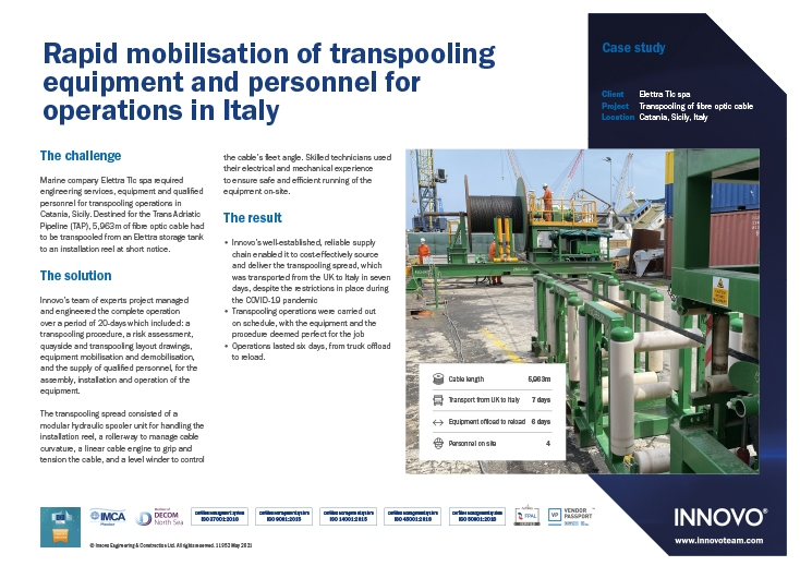 Transpooling Case Study