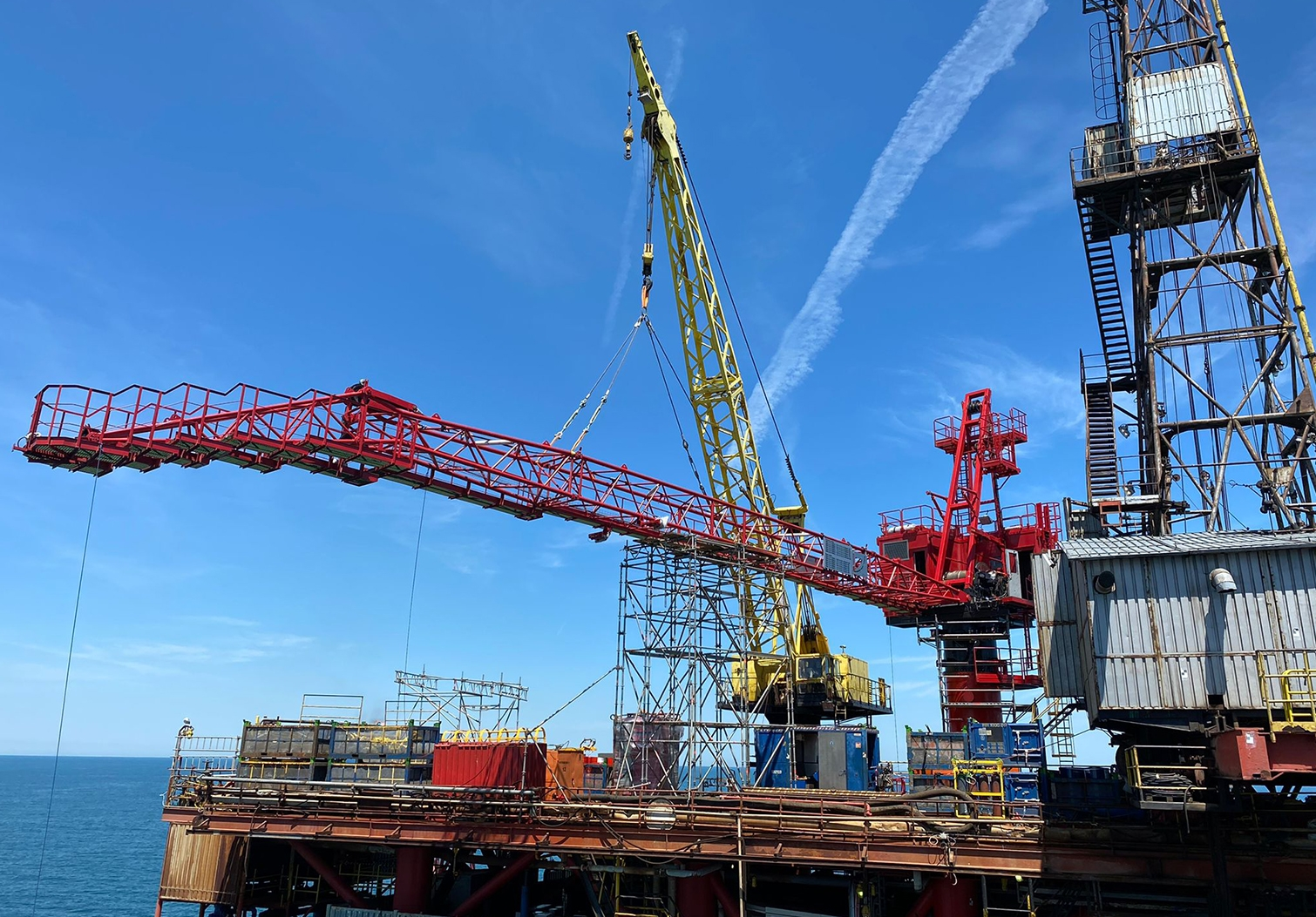 Innovo's sustained focus on safety and reliability achieves 3-years LTI-free on offshore crane project