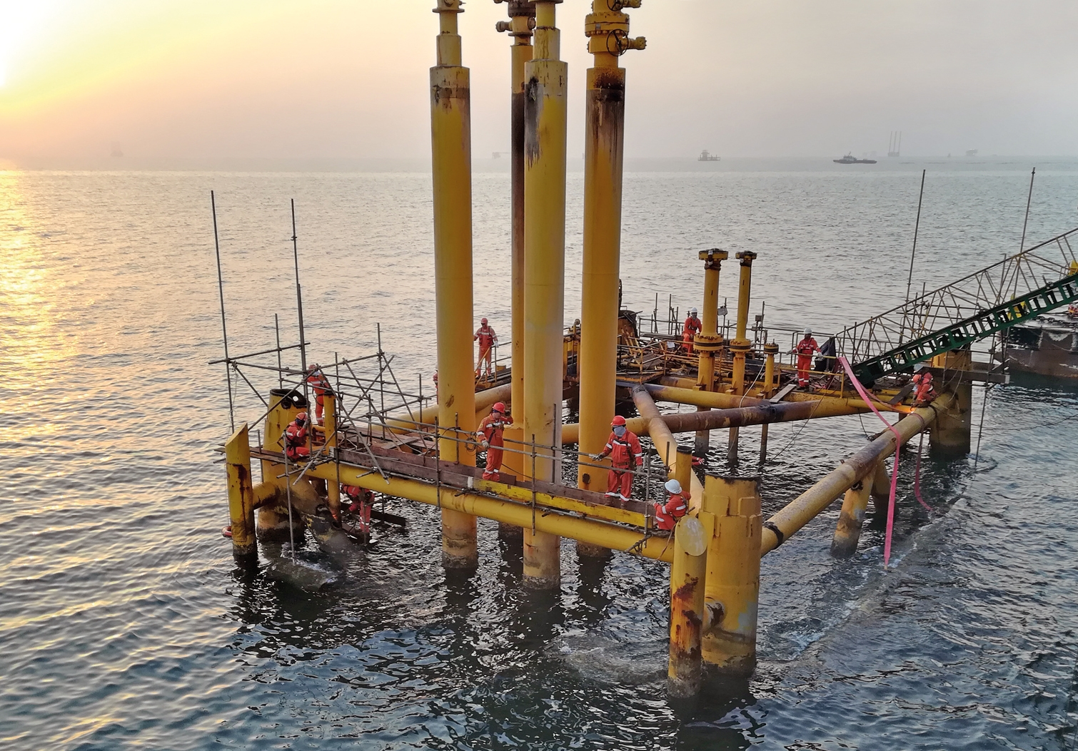 Bespoke decommissioning tools save time and operational costs in the Middle East