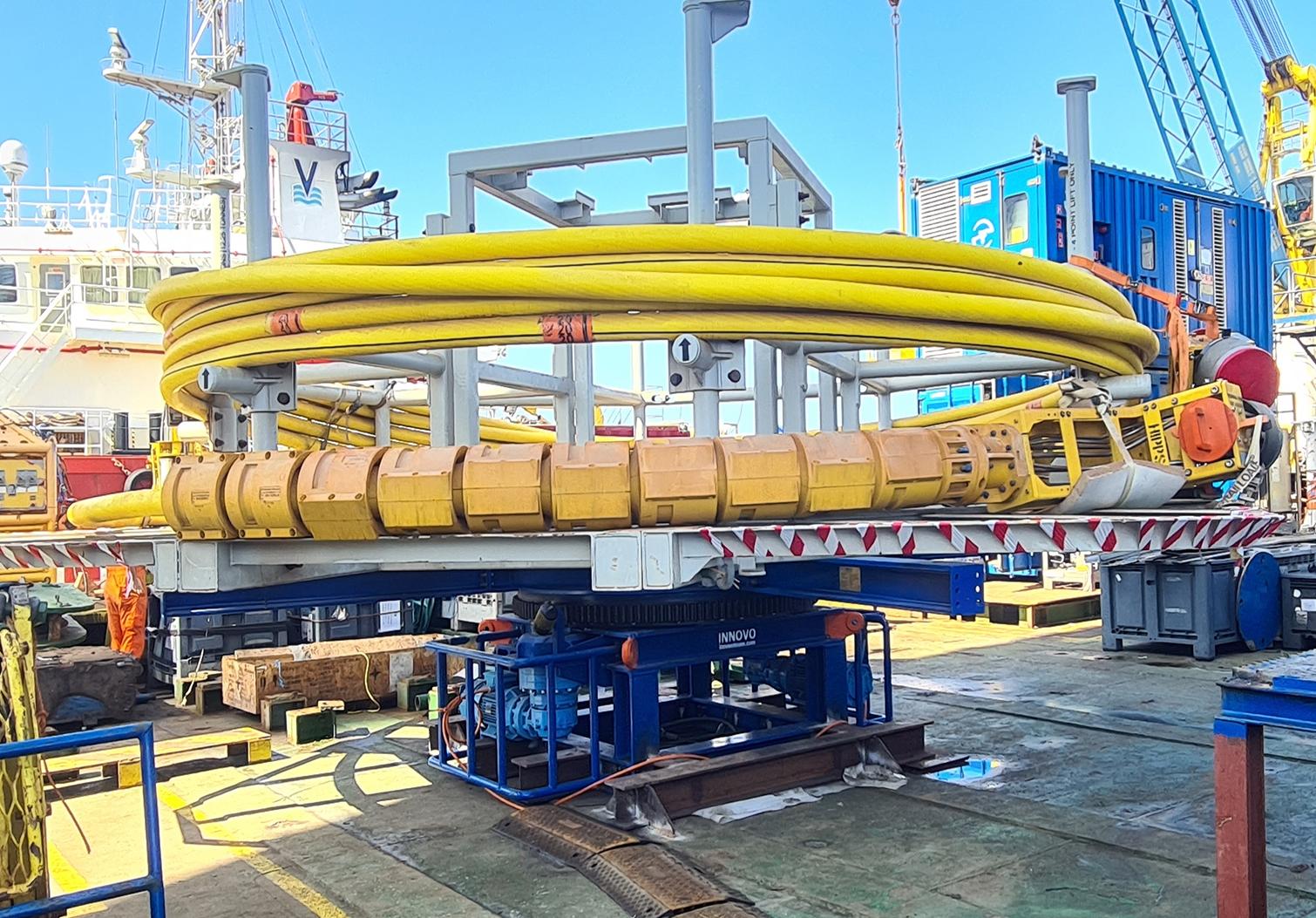 Innovative motorised drum fast-tracked for operation offshore Egypt
