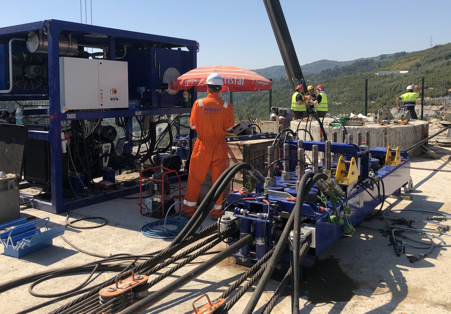 Custom-built linear winch and on-site support saves time and lowers costs for Leitner Ropeways