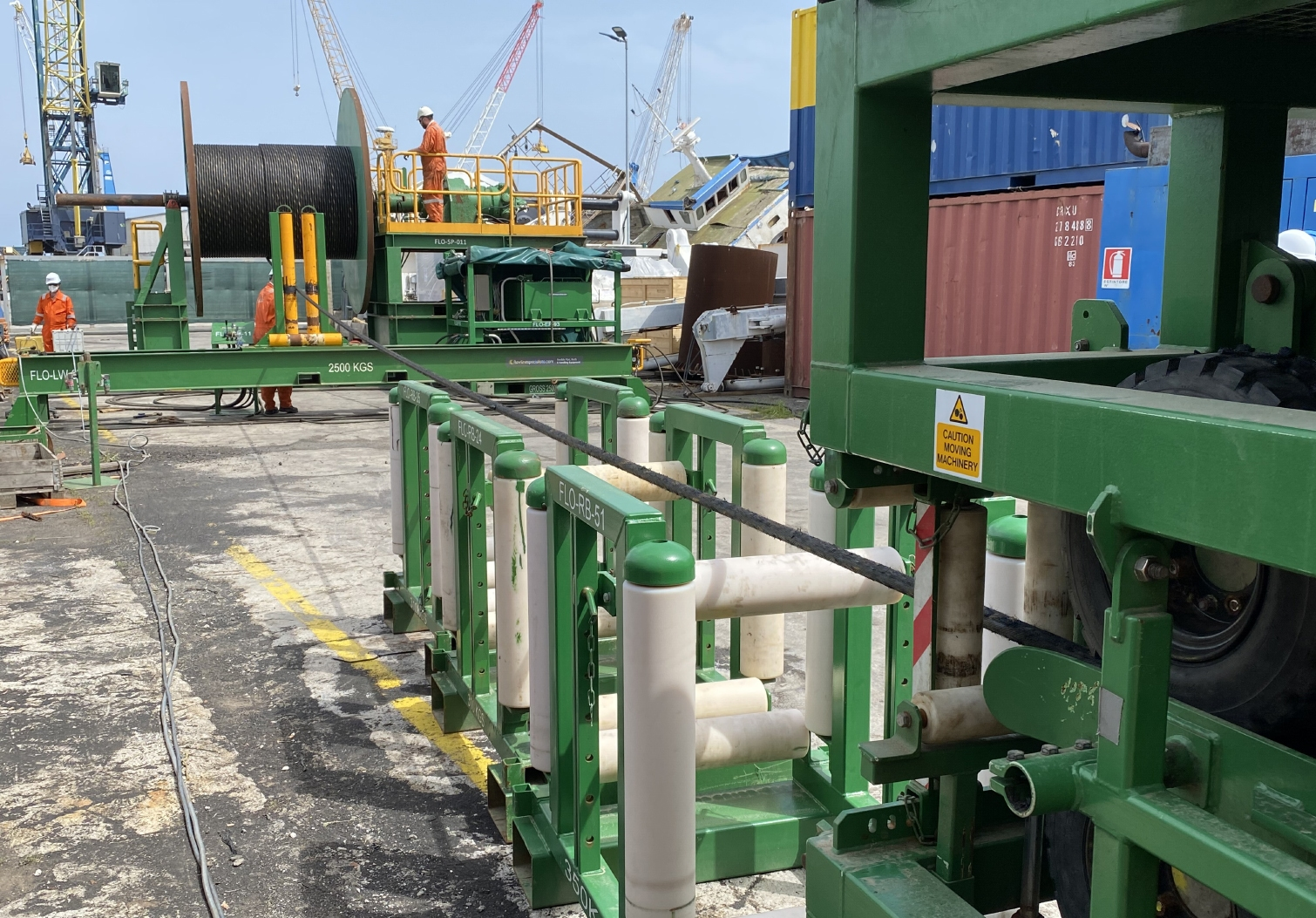 Rapid mobilisation of transpooling equipment and personnel for operations in Italy