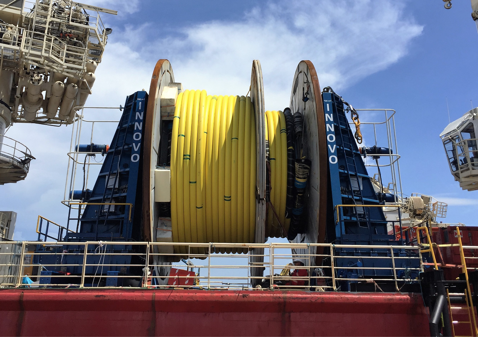 Sparrows Group and Innovo complete first electric reel drive system contract