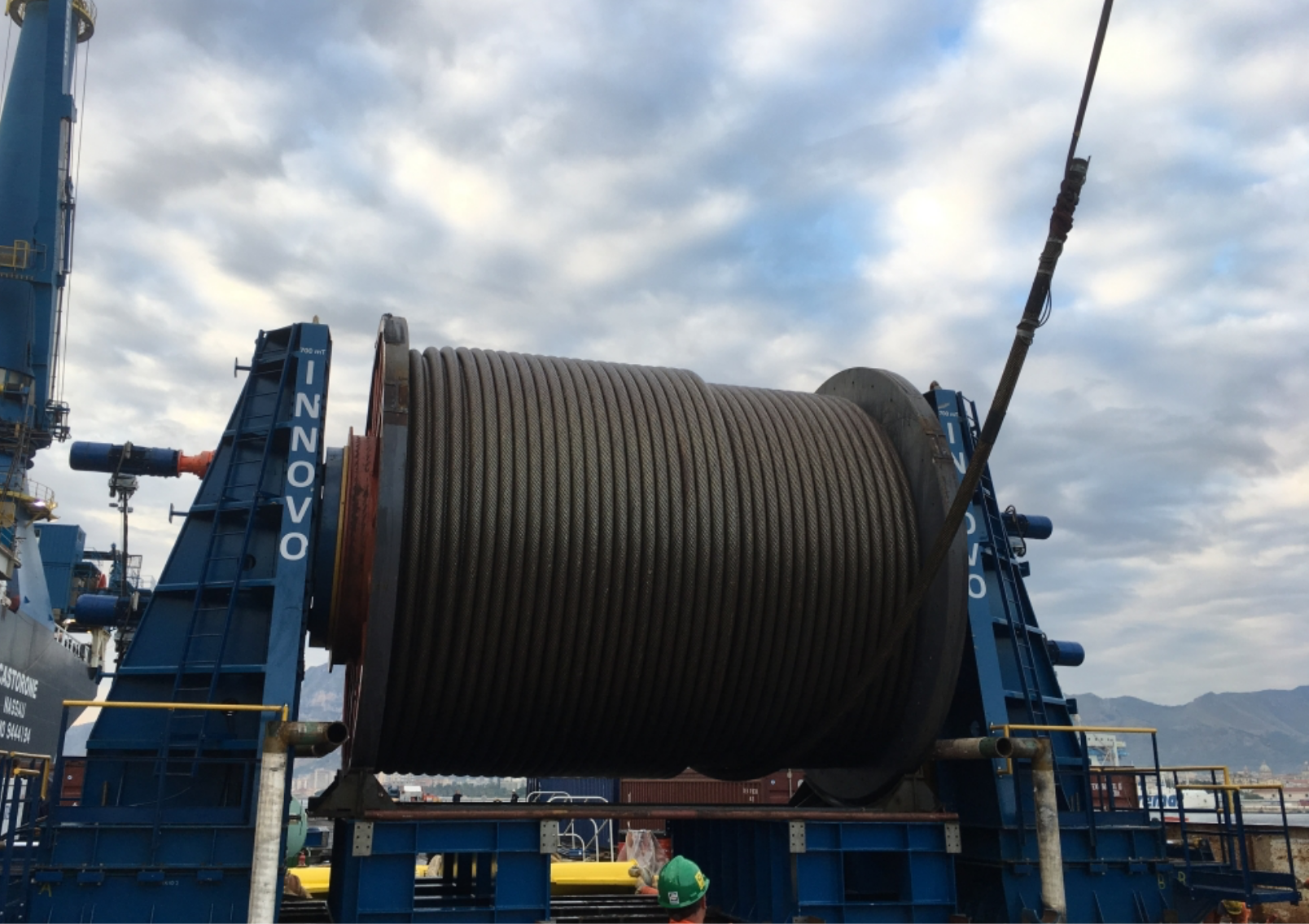 Innovo's Innodrive reel drive system completes a remarkable 15 months' umbilical laying and spooling activity with 0% downtime