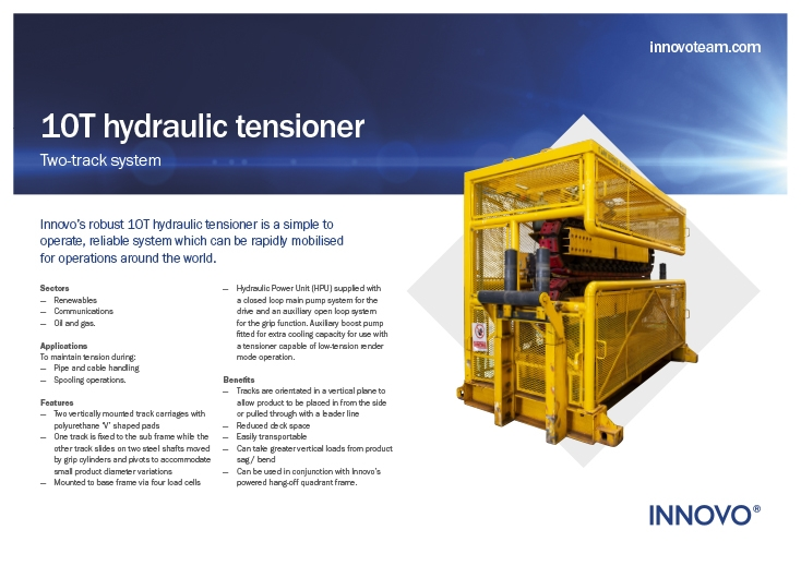 10T Hydraulic Tensioner (INN-10HT-ST) available to rent