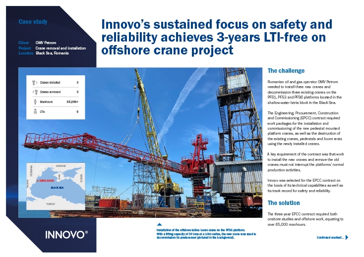 Crane Removal and Installation Case Study