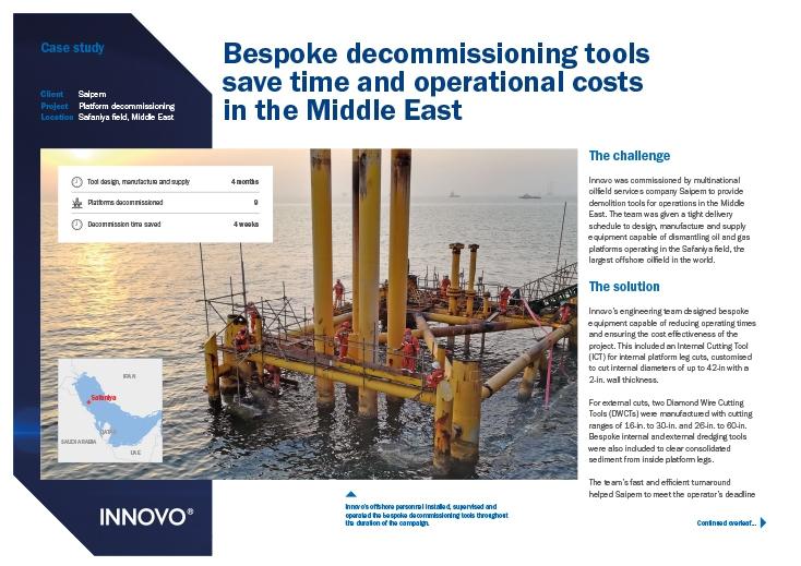 Platform Decommissioning Case Study