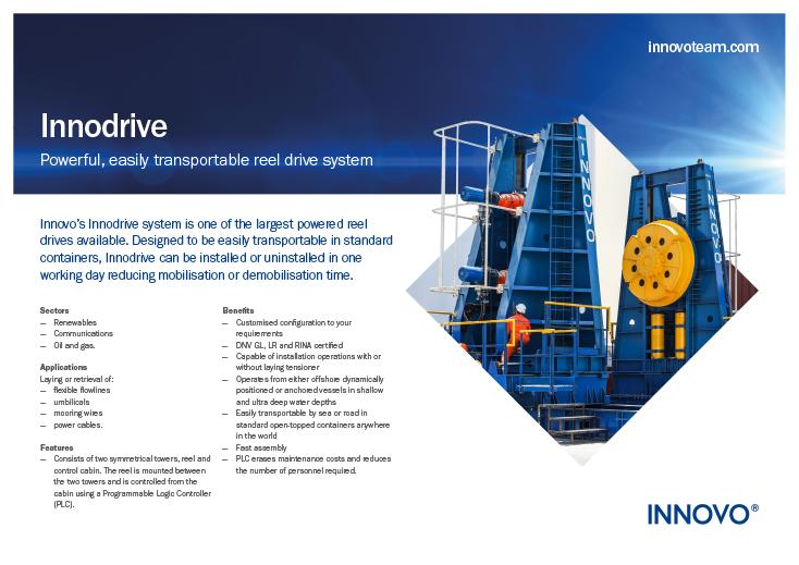 Innodrive Reel Drive System