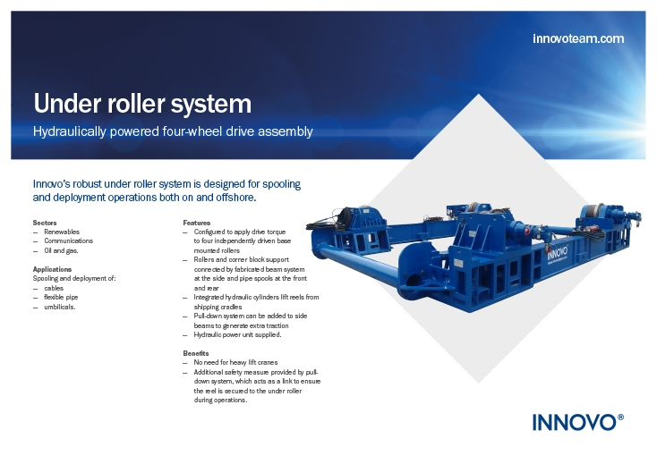 Under Roller System available to rent