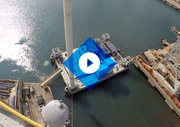Modular Jack-up Launch